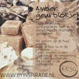 Amber geurblokje _