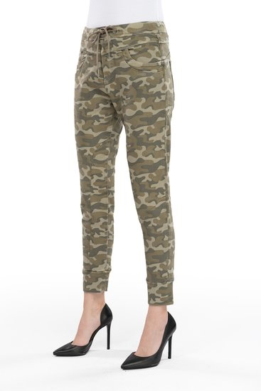 Coj jog jeans Mila light camo