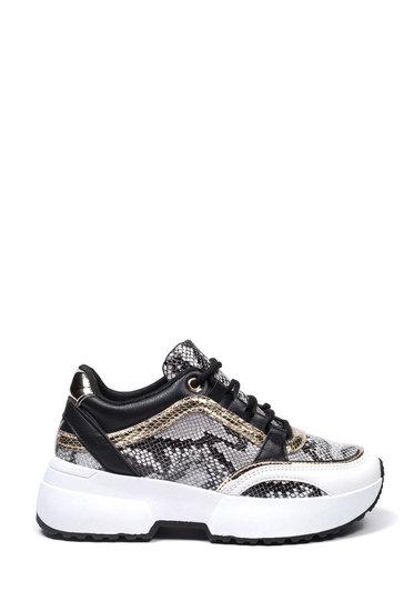 Sneakers zwart grijs