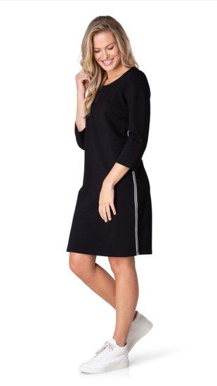 basic jurk Yulia zwart