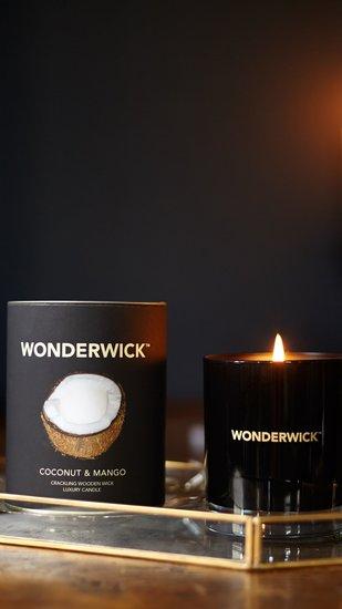 Wonderwick kaars Coconut & Mango