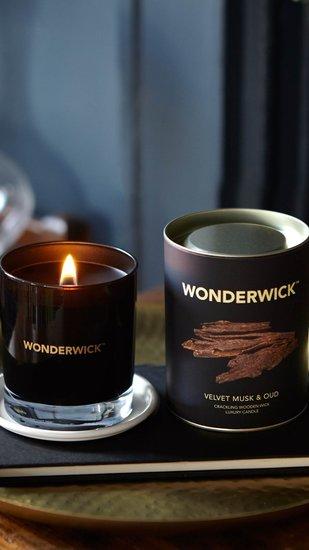 Wonderwick kaars Velvet Musk