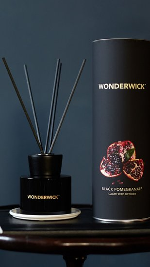 Wonderwick Diffuser Black Pomegranate