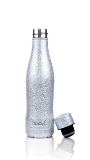 Glacial thermosfles Zilver 400ML