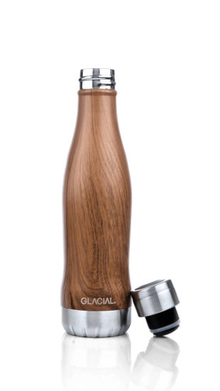 Glacial thermosfles Hout 400ML