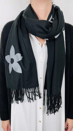 sjaal zwart ster
