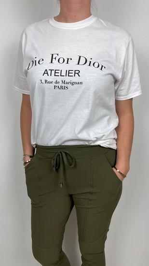 Shirt dior oversized wit