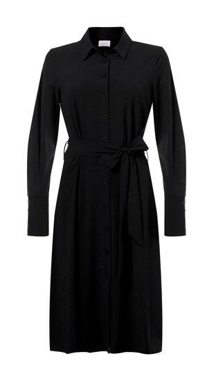 Daelin travel jurk doorknoop in 3 kleuren verkrijgbaar