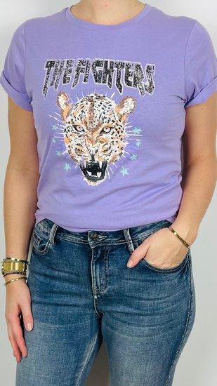 Ambika shirt tijger lila