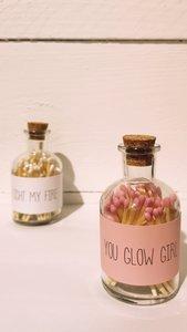 My flame lucifers You glow girl roze