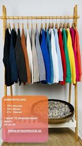 Viscose trui 1 maat in 16 kleuren verkrijgbaar